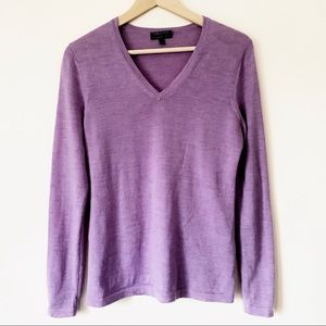 Lord & Taylor V-Neck Sweater